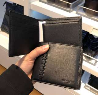 Buy 1 Take 1 - Authentic Coach Wallet for Men - with Gift Receipt