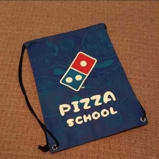 🚚 全新 PIZZA SCHOOL 束口包 後背包  #畢業一百元出清