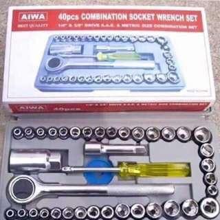 40pcs tools