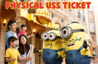 USS PHYSICAL TICKET (OPEN DATE)- The cheapest in Carousell!!!