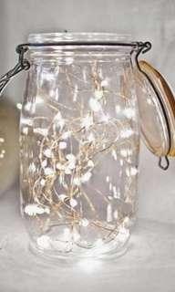 Fairy lights in a Jar/Bulb