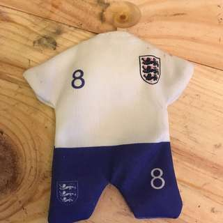 Giveaway FOC England No. 8 Jersey