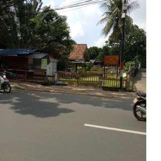 Dijual Tanah pinggir jalan raya 3200 mtr di Sebelah Bangi Kopi Jl. Raya Ps. Minggu