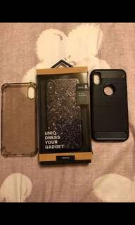 Iphone X Cases(UNIQ,Jelly case etc.)