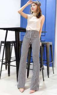 Stripe pants bagusss