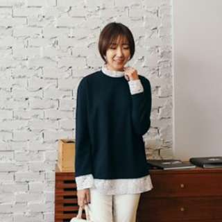 Can Mart Navy Blue Top Canmart