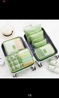 6in1 Travel Luggage Bag Clothes Organizer