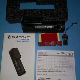 Blackvue DR450-1CH Dash / Car camera