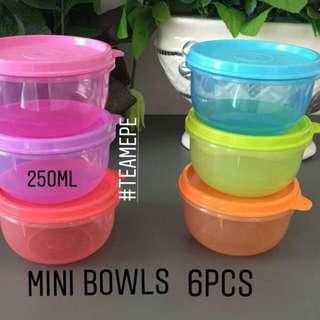 Mini bowls 250ml