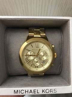 MK Gold watch 100% Authentic