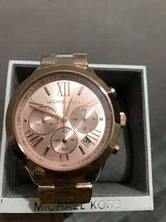 MK Rose Gold watch 100% Authentic