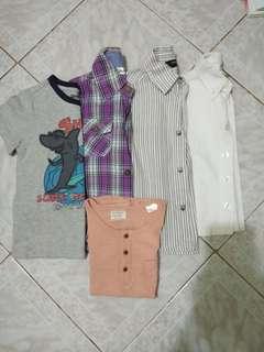 Polo/shirt lot