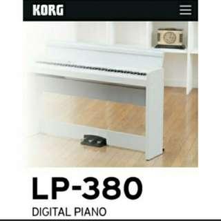 全新琴行批發價 KORG LP-380 日本 LP380 Lp180 B1 88鍵數碼鋼琴 數碼琴 電子琴 Digital Piano Keyboard
