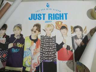 Got7 Just Right official poster