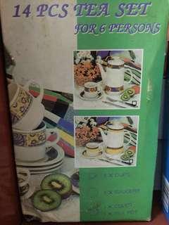 14 pcs Tea set