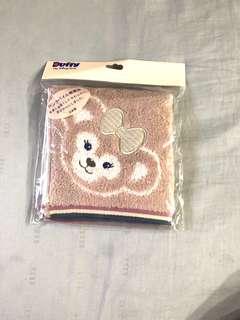 EXCLUSIVE Disneysea Japan - Duffy & Stella Hand Towel (Pink strips)