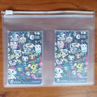 Tokidoki Ezlink black mozz limited edition