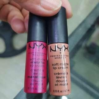 Nyx mini lip cream bundle Authentic from US