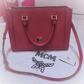 MCM Nuovo L Large Tote Bag