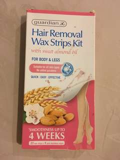 HAIR REMOVAL WAX STRIPS KIT