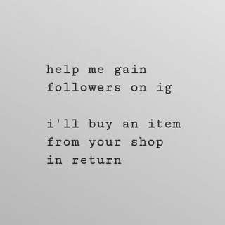 help me on my ig shop