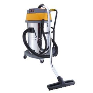 DYNATEC Stainless Steel Wet & Dry Vacuum Cleaner ( 80 Litres ) ( Double Motors )