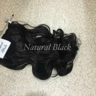 Hair Extensions (Natural Colors)