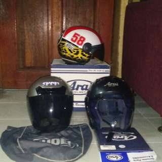 arai szf dan shoei j force1