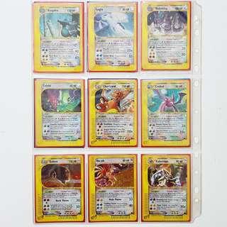 (PENDING) Gem Mint complete E-Series Crystal Pokemon