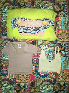3 tops for 25! Or can be purchased separately