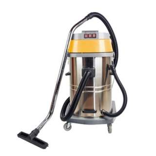 DYNATEC Stainless Steel Wet & Dry Vacuum Cleaner ( 80 Litres ) ( 3 Motors )