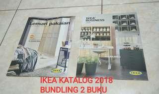 KATALOG IKEA 2018 BUNDLING DAPAT 2 BUKU HARGA PASS!!