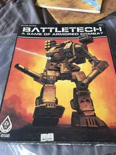 MARINE PARADE MEETUPS ONLY VINTAGE BATTLETECH BOARDGAME