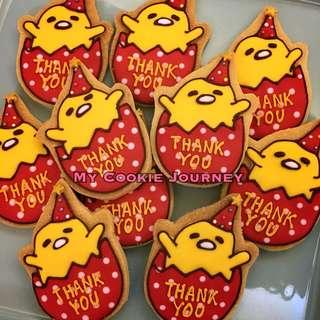 蛋黃哥icing cookies