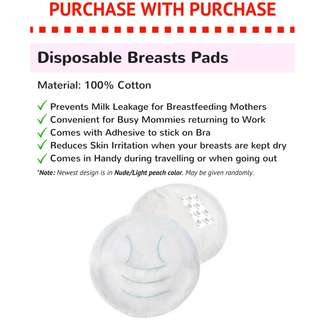 Disposable Breast Pads (10pcs)