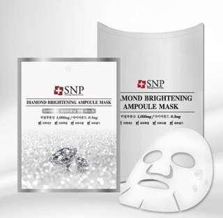 Masker Diamond Brightening ampoule