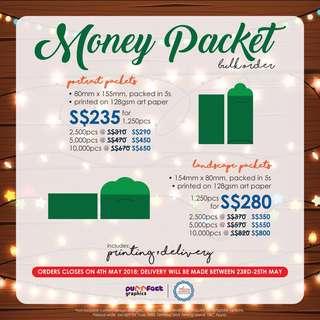 Money Packet Bulk Order