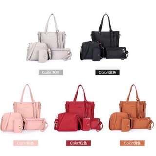 Korea 4in1 Shoulder Bag