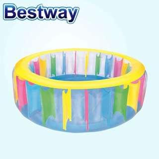 Bestway Rainbow Children Swimming pool w/ electric air pump