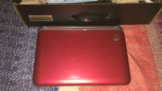 Notebook HP red (beats series)