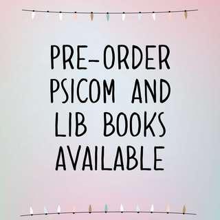 PSICOM/WATTPAD BOOKS