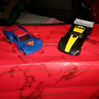Mobil Superman & Batman