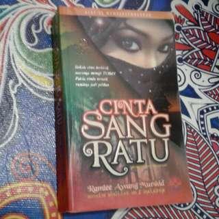 Novel Cinta Sang Ratu - Ramlee Awang Murshid