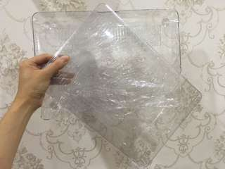 Mac book air 13' transparent casing #OCT10