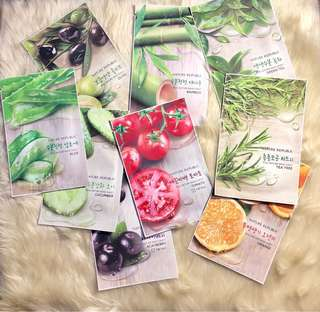 Nature Republic Face Masks
