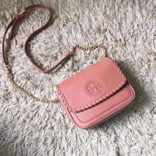 Tory Burch Marion Mini Bag - pink