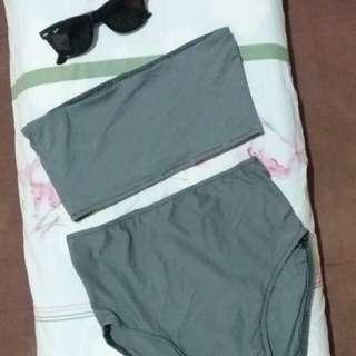 Bandeau 2 piece bikini