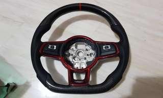 Full carbon fibre cf Steering Wheel vw