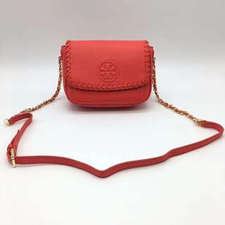 Tory Burch Marion Mini Bag - red