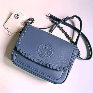 Tory Burch Marion Mini Bag - blue